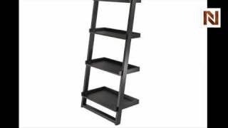 Winsome Bailey Leaning Shelf 5-tier 29525
