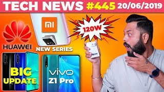 Vivo 120W Crazy FAST Charger, Xiaomi New Series Launch, Vivo Z1 Pro, BIG Honor/Huawei Update-TTN#445