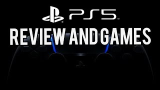 Ps5 reveal and games in ps5 (Greek review/Sortep TV)