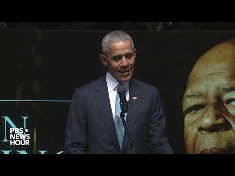 WATCH: Barack Obama's full remembrance at Rep. Elijah Cummings' funeral