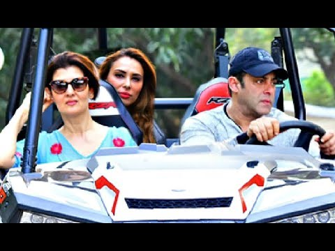 Salman Khan Goes On Drive With Iulia Vantur And Sangeeta Bijlani On His Birthday
