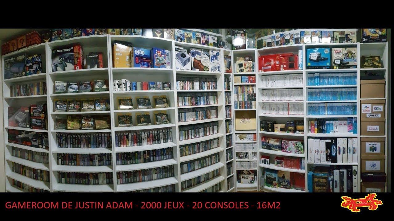 Collection Justin Adam Fullset Nintendo 64, Full set Gamecube, Full set Wii  U