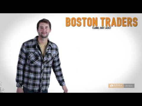 Boston Traders Flannel Shirt Jacket (For Men)