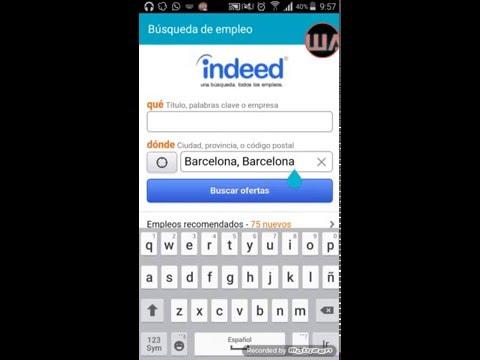 Empleo Indeed Jobs - Buscar trabajo desde el movil