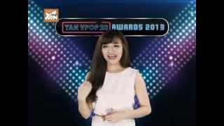 yantv yan vpop 20 awards 2013bich phuong