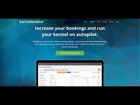 Creating a KennelBooker Account