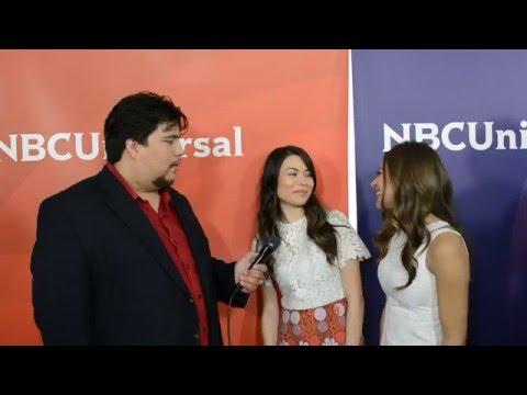 Miranda Cosgrove and Mia Serafino talk