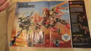 LEGO Club Magazine Bionicle 2016 detailed look!