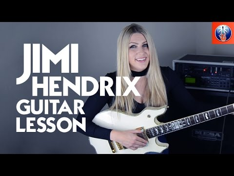 Jimi Hendrix Guitar Lesson - How to Play Crosstown Traffic
