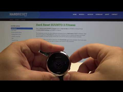 How To Change Watch Face In SUUNTO 3 Fitness - Set Up Screen Look