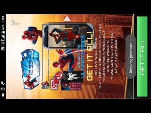 How to unlock all features of Amazing Spider-Man live wallpaper by#aniketsingh(read the description)