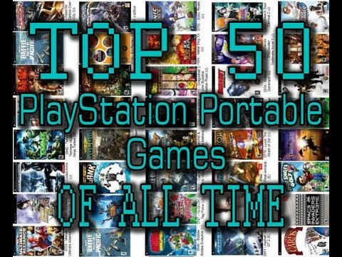 TOP 50 PSP PlayStation Portable Games OF ALL TIME