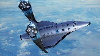 Virgin Galactic: La primera nave turística ya llegó al espacio