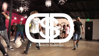 Chris Brown - Kriss Kross | @devin_solomon choreography | Millennium Dance Complex| #KrissKross