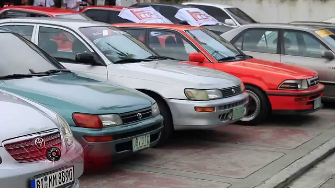 toyota corolla club philippines - youtube