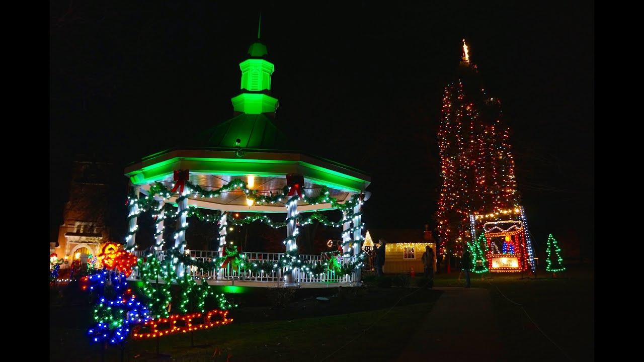 willoughby christmas lights lighting ceremony display ...