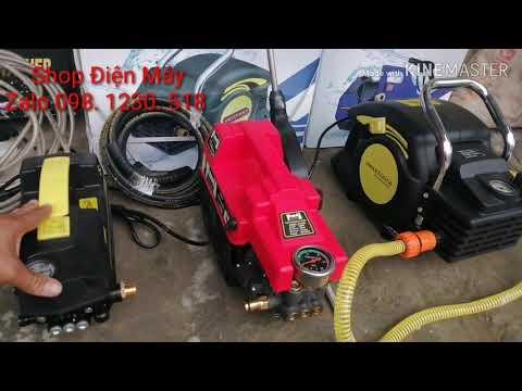 Máy Rửa Xe - Cách Chọn Máy Rửa Xe - Máy Xịt Rửa áp Lực
