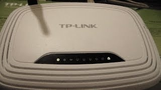 tutorial como resetar o roteador tplink TL WR740N