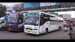 Showcasing Sparkling, Colourful & Really Beautiful 26 Volvo Buses In & Around Mumbai !!!