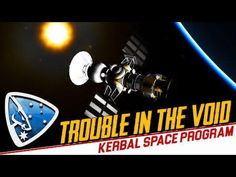 Kerbal Space Program: Trouble in the Void (Making History Expansion)