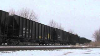 Indiana Southern, NS and CSX action all in one day-Part 1