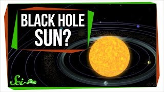 If the Sun Became a Black Hole, Would Earth Fall In?