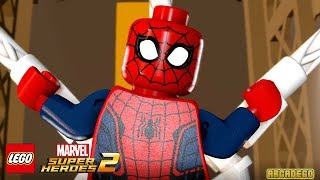 LEGO Marvel Super Heroes 2 Walkthrough Part 3 Castle Hassle (Guardians of the Galaxy)
