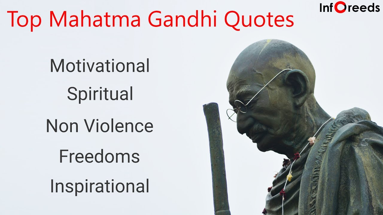 Spiritual Motivational Quotes Top Mahatma Gandhi Quotes  Inspirational Motivational Spiritual