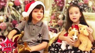 НОВОГОДНИЕ СТИХИ от детей Филиппа Киркорова - Мартина и Аллы-Виктории!