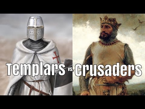 Templars vs. Crusaders - What was the Difference?