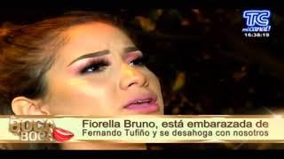 FIORELLA BRUNO HABLA DE FERNANDO TUFIÑO