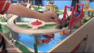 Kidkraft Waterfall Mountain Train Table & Set