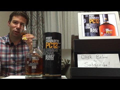 Bruichladdich's Port Charlotte PC12 Islay Single Malt Scotch Whisky: WhiskyWhistle Whisky Review 111