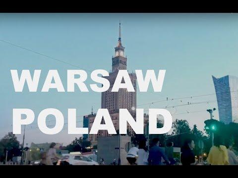 Time Lapse: Warsaw, Poland (HD)