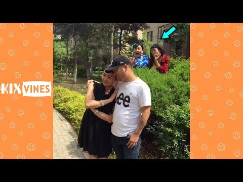 Funny videos 2018 ✦ Funny pranks try not to laugh challenge P10