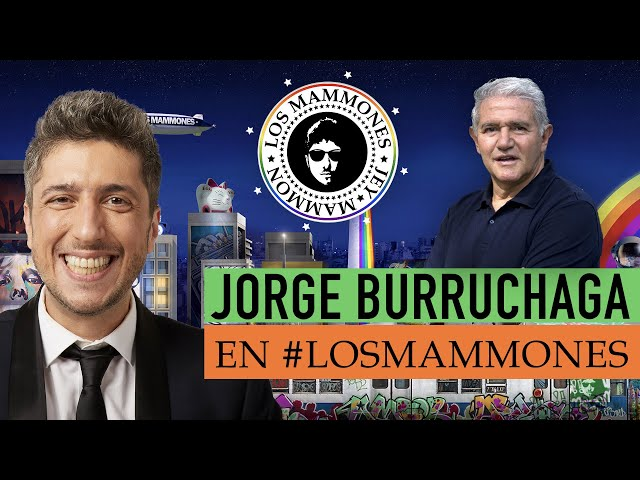 Jorge Burruchaga con Jey Mammon: