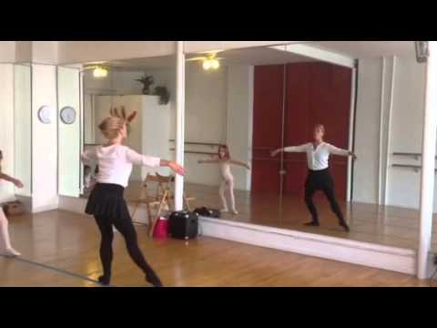 Brooklyn dance project Monday ballet 3:40 ballet ms Karine 2013