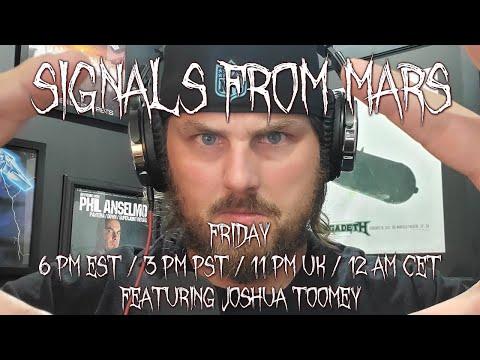 Joshua Toomey | Signals From Mars Live Stream - June 11th, 2021