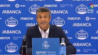 Rueda de prensa de José Luis Martí tras el RC Deportivo vs RCD Mallorca (1-0)