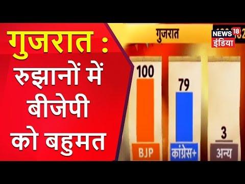 Ahmedabad से Live | गुजरात : रुझानों में बीजेपी को बहुमत | News18 India