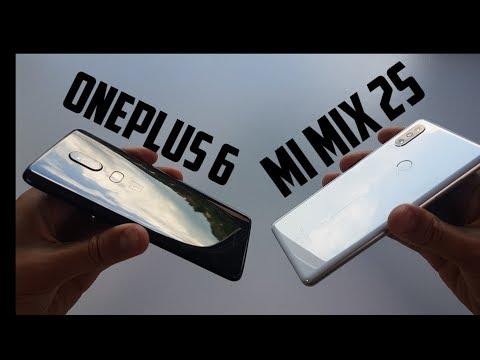 OnePlus 6 vs Xiaomi Mi Mix 2s Comparison/Display/Sound Speakers/Design Build/Which one to buy?