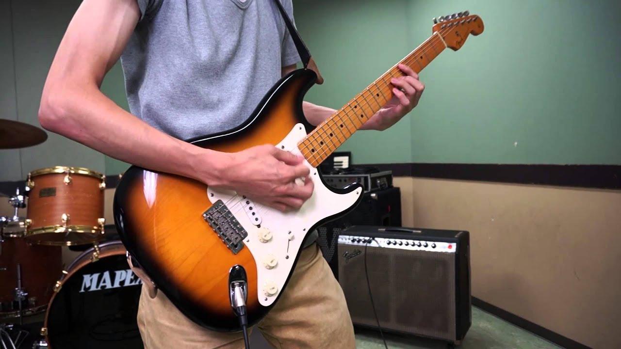 Fender Usa American Vintage 57 Stratocaster 2 Tone