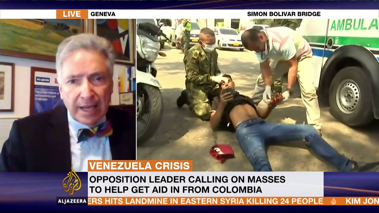 Interview of 24 February 2019 with Al Jazeera on the situation in Venezuela