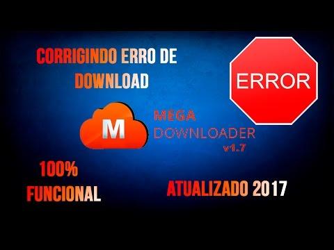 Como resolver ERRO no Megadownloader ! 100% Funcional