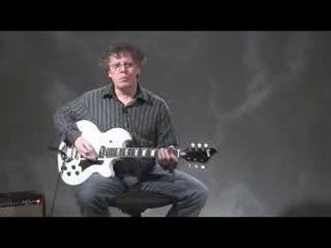 Eastwood SUPRO Coronado Guitar - Brian Greenway