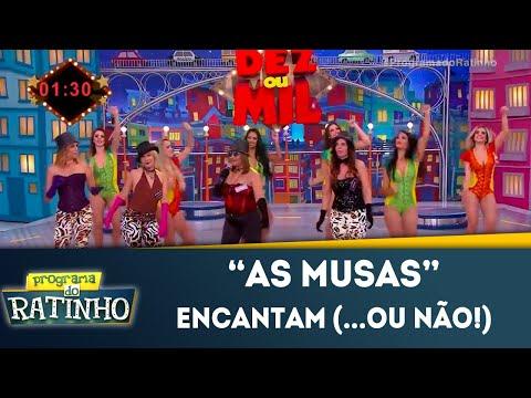 As Musas Encantam Os Jurados (...ou Não!) | Programa Do Ratinho (09/07/2018)