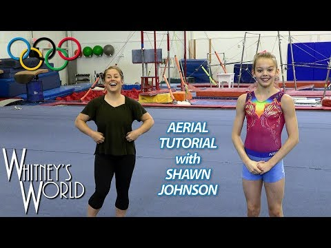 Aerial Tutorial with Shawn Johnson and Whitney Bjerken