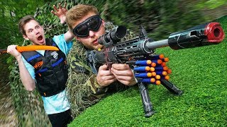 NERF Find the Secret Hidden Sniper Challenge!