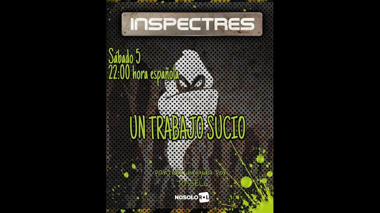 """Ver INSPECTRES """"Un trabajo sucio"""" en Español"""