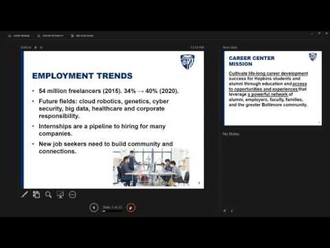 Parent Webinar Overview of the Career Center